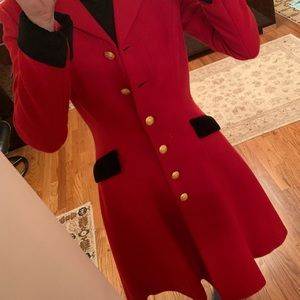 Ralph Lauren Rugby Classic Red Coat